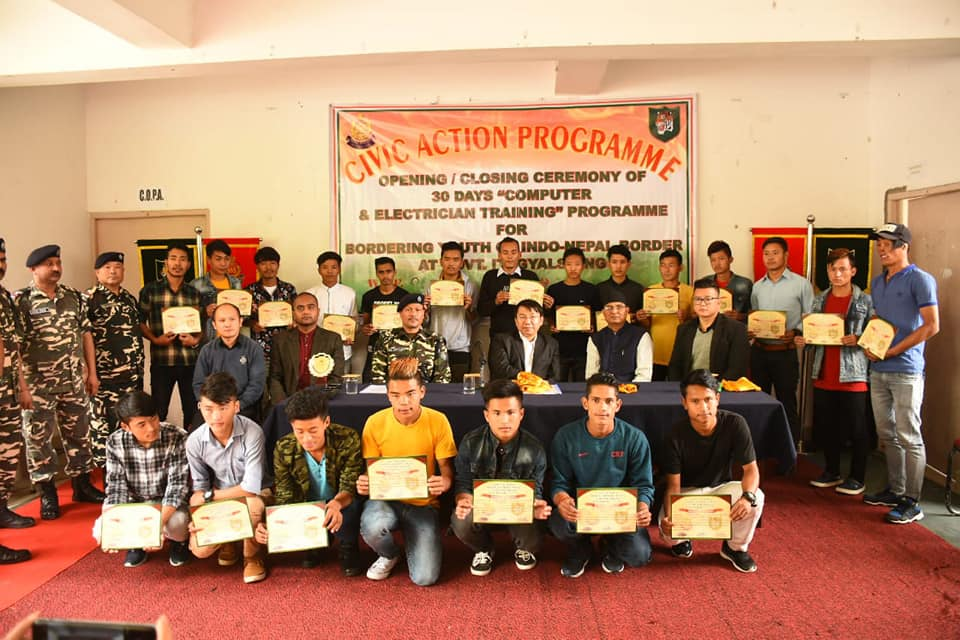 Residential Electrician Training concludes successfully at ITI, Gyalshing