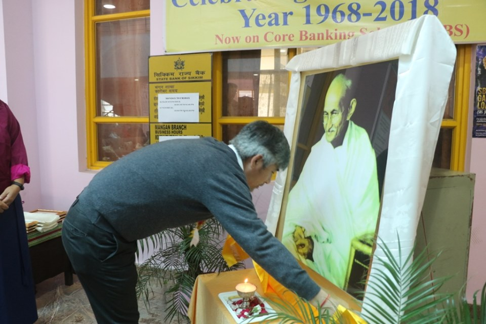 North Sikkim celebrates 150th birth anniversary of Mahatma Gandhi