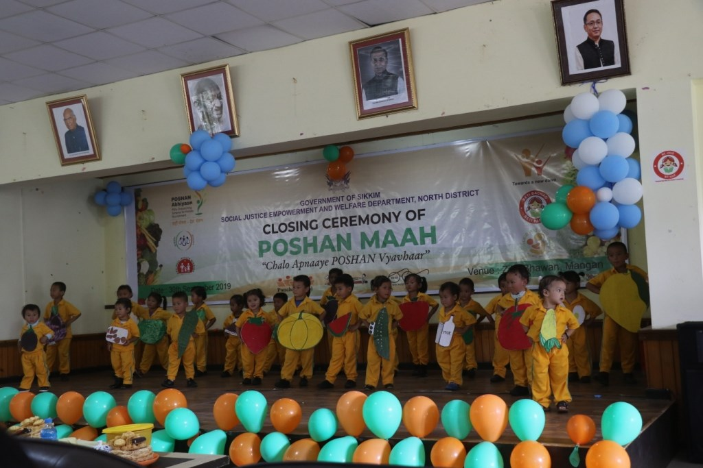 Poshan Maah campaign concludes in North district