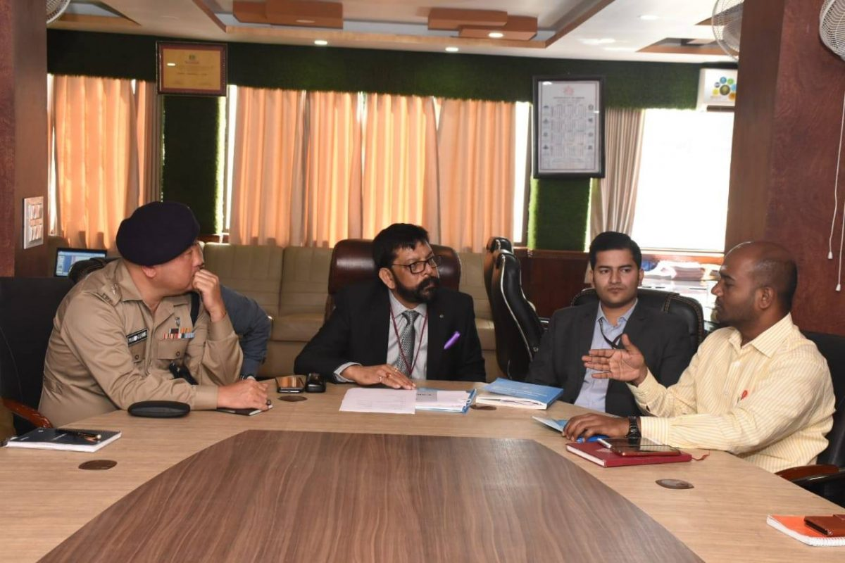 Review Meeting by General Observer for 10 Poklok Kamrang Assembly Constituency