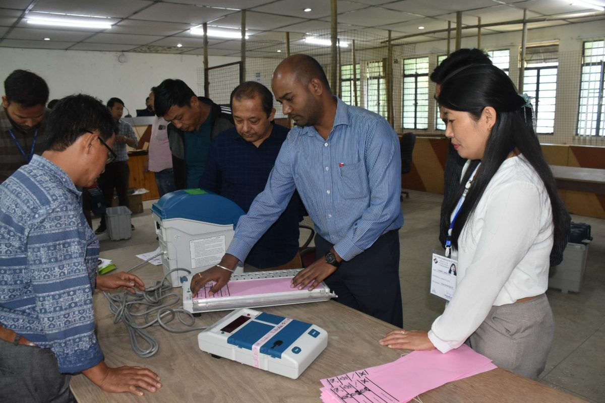 Second Randomization and commissioning of EVMs