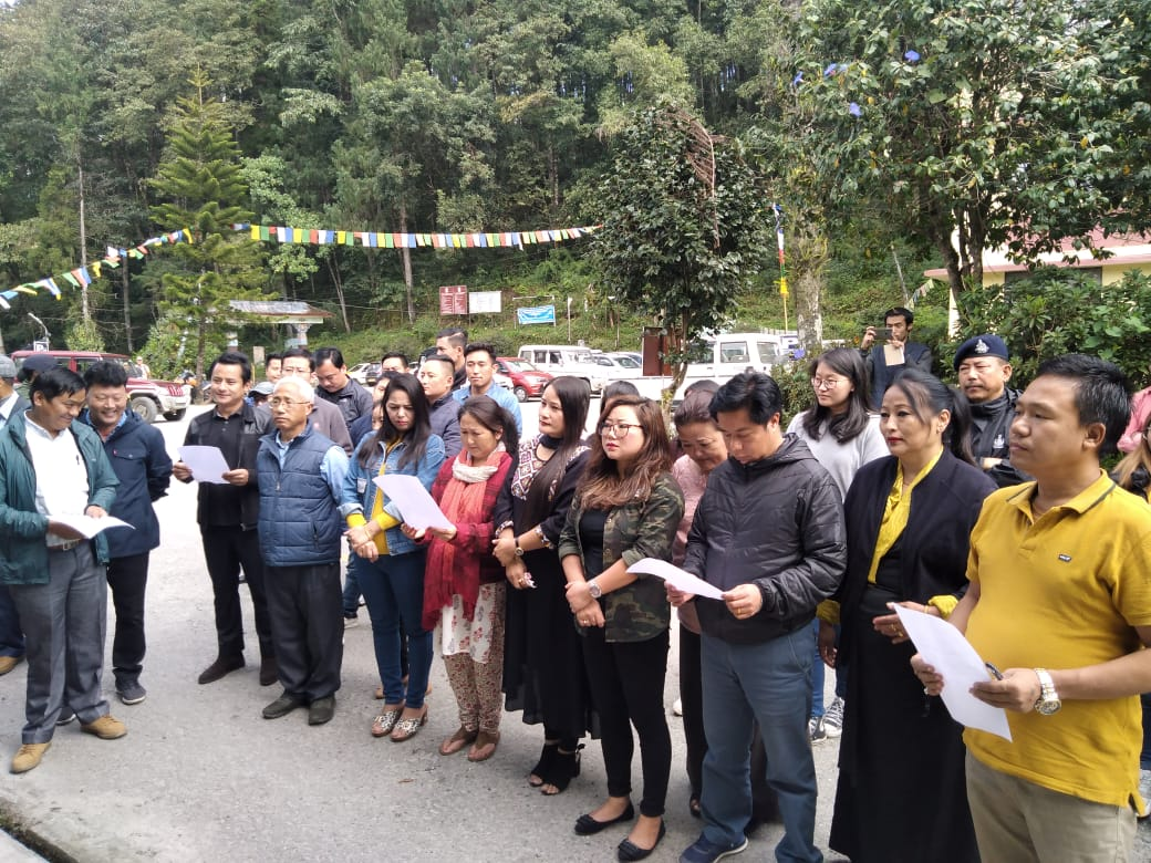 NORTH SIKKIM OBSERVED NATIONAL UNITY DAY 2019