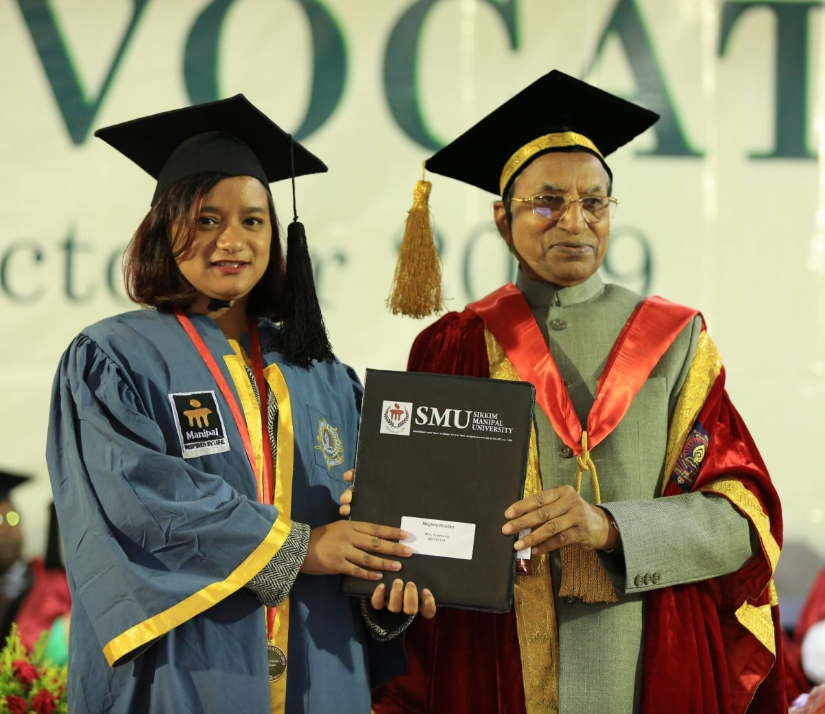 19th Convocation of Sikkim Manipal University held at SMIMS