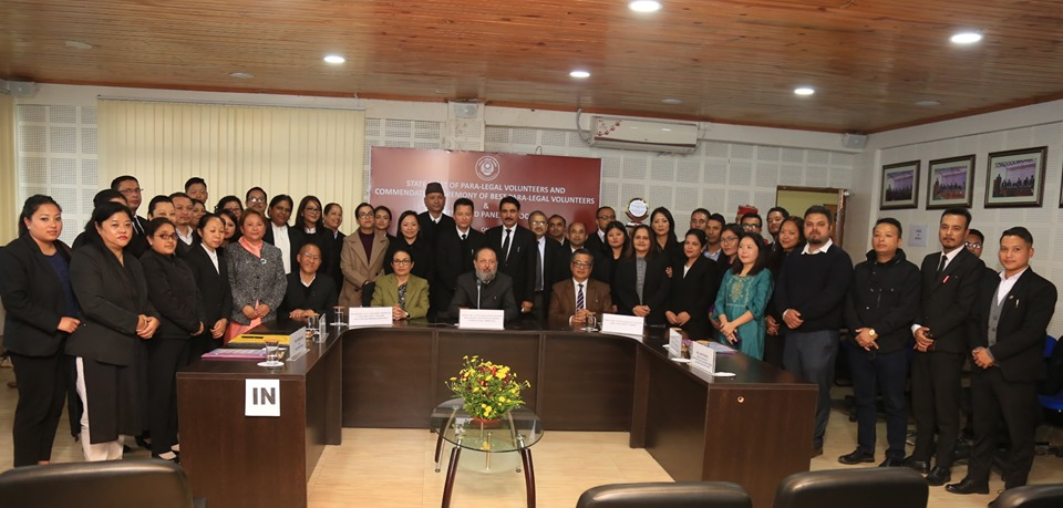 Sikkim SLSA holds commendation ceremony for best PLVs & Legal Aid Panel Lawyers
