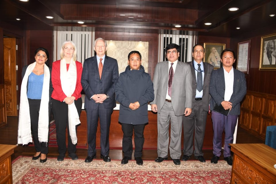US Ambassador, His Excellency Mr. Kenneth Juster called on the Chief Minister of Sikkim, Shri Prem Singh Tamang
