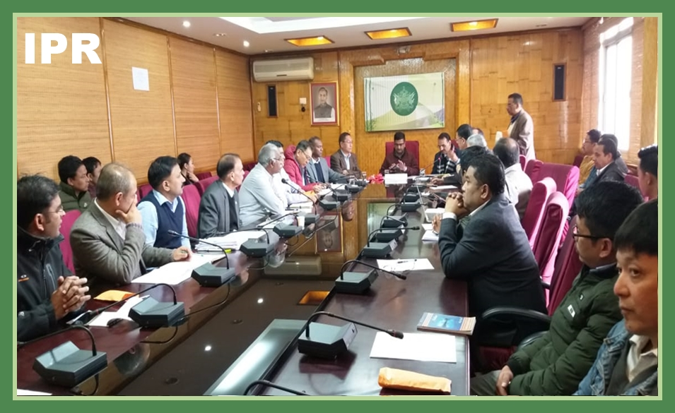 HON'BLE MINISTER SHRI LOK NATH SHARMA CHAIRED A COORDINATION MEETING WITH THE SERVICE PROVIDER AGENCIES AND CERTIFICATION BODIES ON 20/11/2019