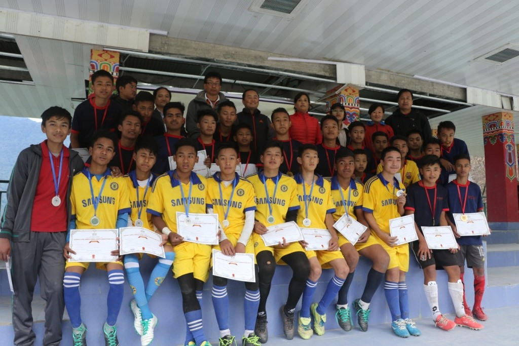 District Level Annual School Sports Competition kicked off in North Sikkim