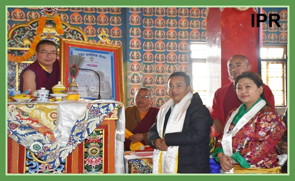 HCM ATTENDED LHABAB DUECHEN CELEBRATION IN NAMCHI ON 19.11.2019