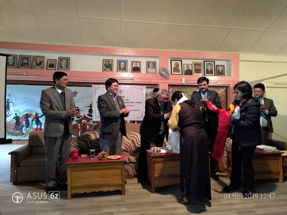 National Initiatives for School Heads' and Teachers' Holistic Advancement (NISHTHA) launched in Sikkim