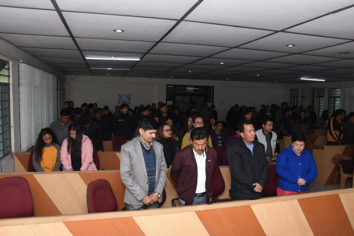 Constitution Day was observed at Namchi District Administrative Centre