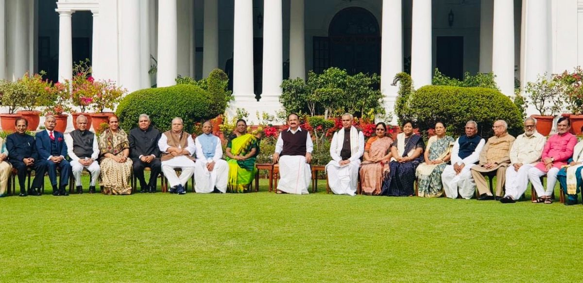 Hon'ble Governor Shri Ganga Prasad attended 50th Governor's Conference at Rashtrapati Bhavan