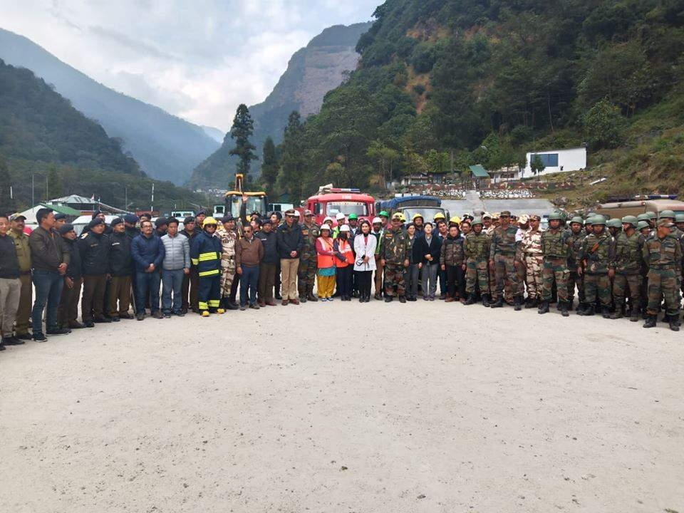 NDMA in collaboration with LR&DMD & DDMA North organized Earthquake Mega Mock Exercise