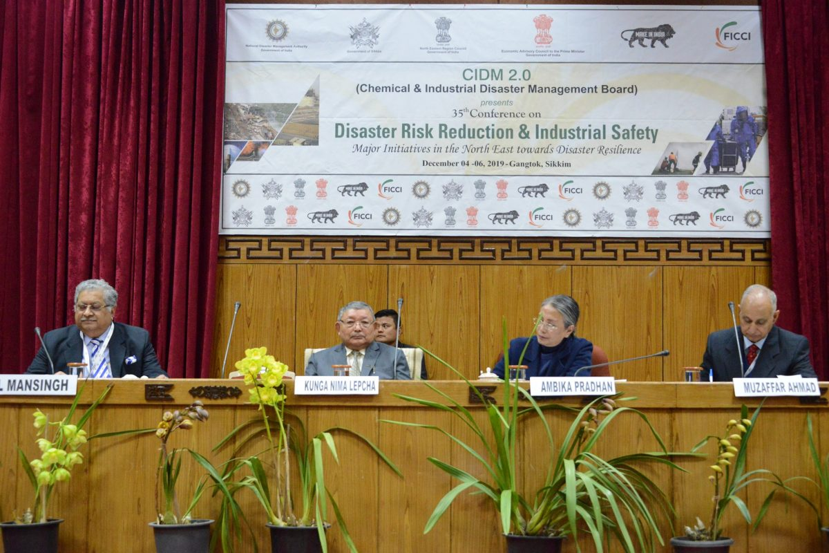 35th Conference on Disaster Risk Industrial Safety & Emergency Preparedness under CIDM 2019