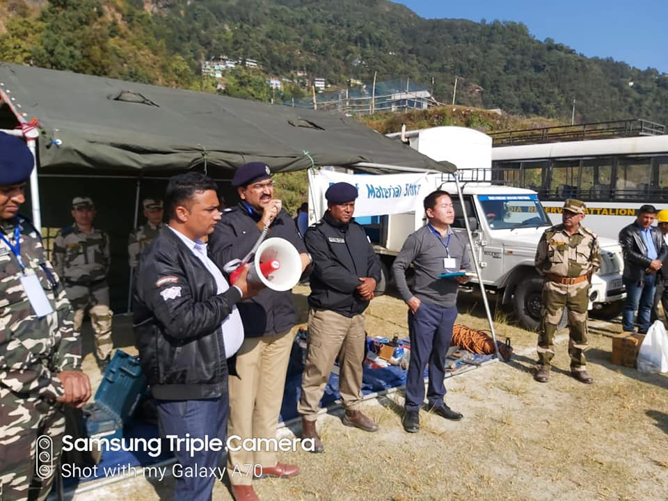 Mock drill exercise conducted successfully in West Sikkim