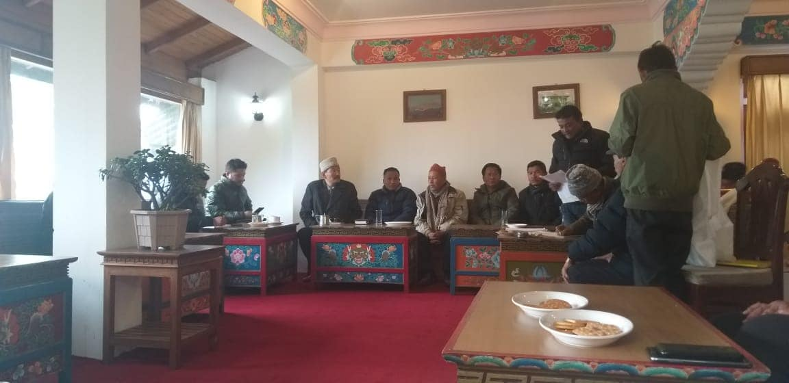 First Preparatory Meeting for 7th Kanchendzongkha Winter Tourism Festival , State Level Tamu Lochar Celebration and Christmas Celebration 2019 held at Pelling, West Sikkim