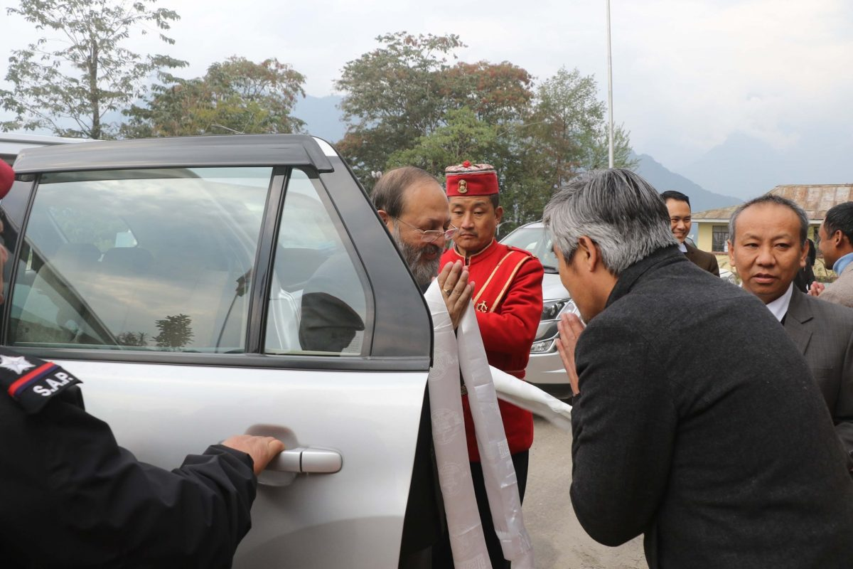 Chief Justice of High Court of Sikkim visited the District and Sessions Court