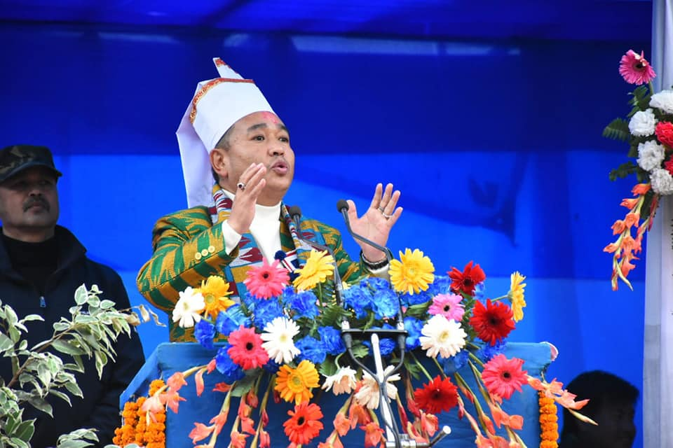 The Hon'ble Chief Minister attended the 315th Birth Anniversary of Teyongsi Sirijunga