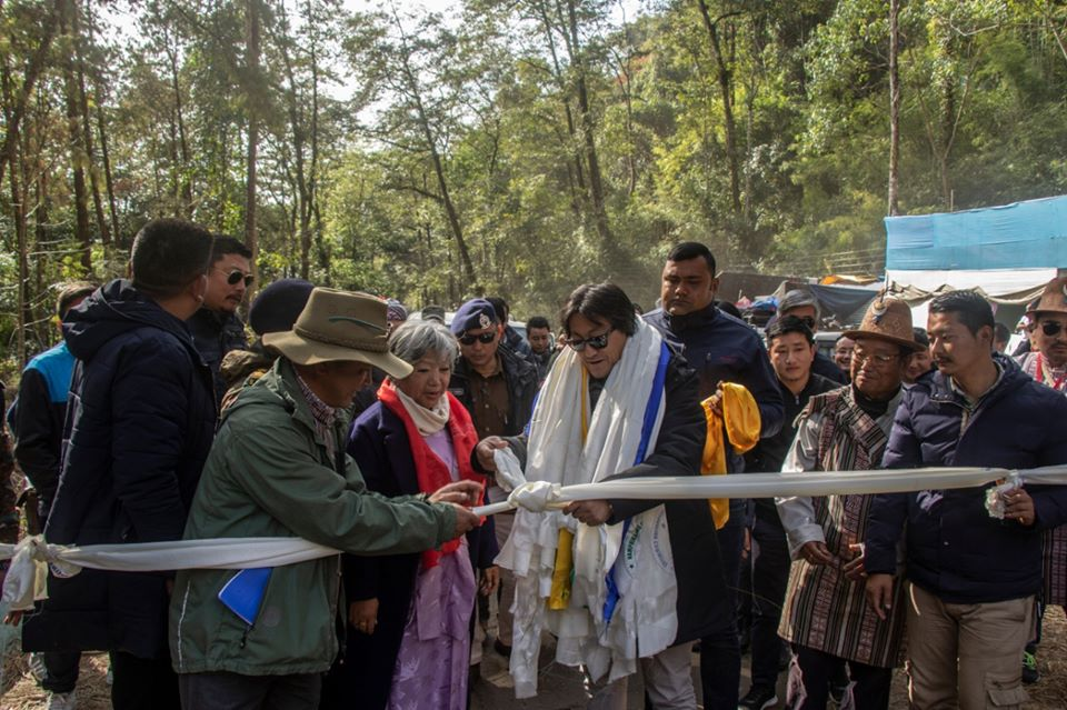 Hon'ble Minister Shri Karma Loday Inaugurated State Level Namprikdang Namsoong Festival 2019-20