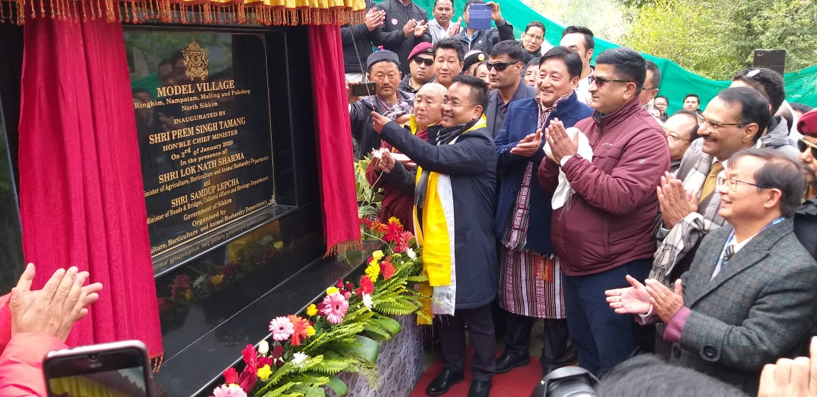 HCM  inaugurated newly adopted model village