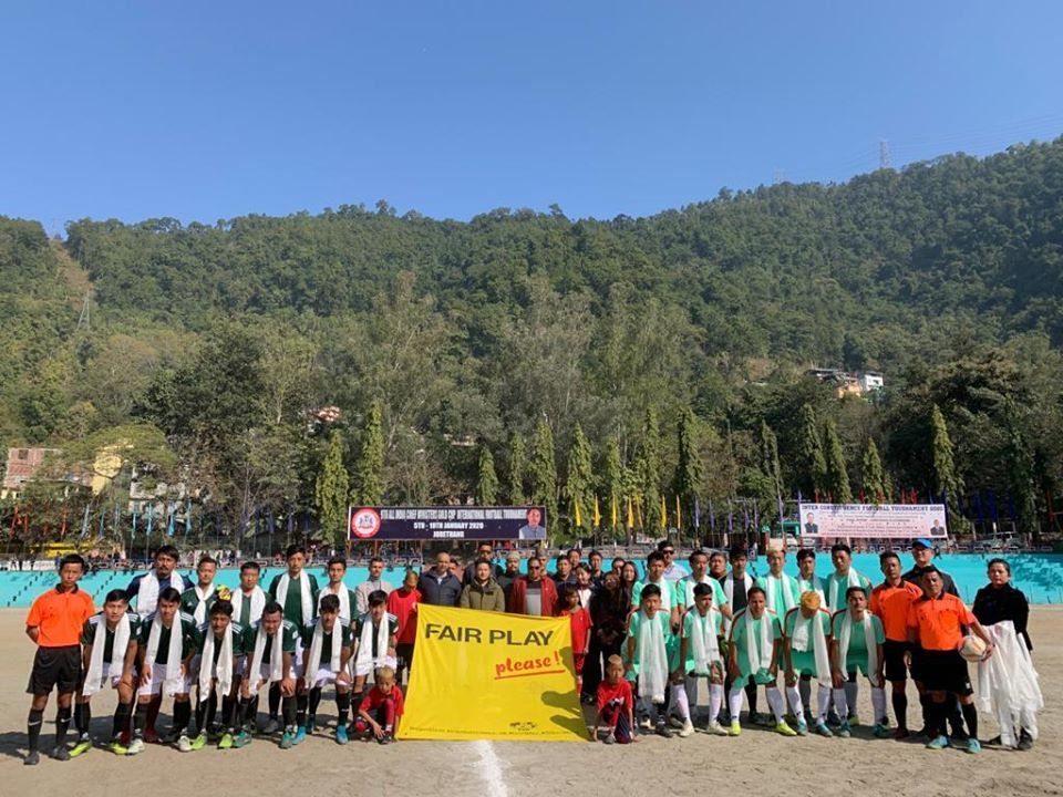 Zoom Salghari and Barfung to battle it out for the Inter Constituency Football Tournament Cup