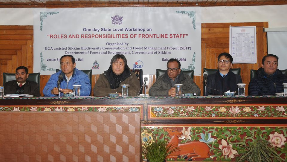 """One-day State Level Workshop on """"Roles and Responsibilities of Frontline Staffs"""""""