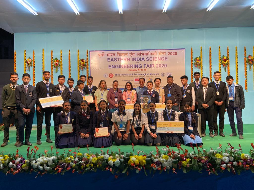 Sikkim Wins Eastern India Science Fair 2020
