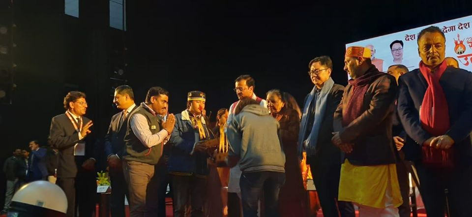 SIKKIM YOUTH SHINES IN NATIONAL YOUTH FESTIVAL