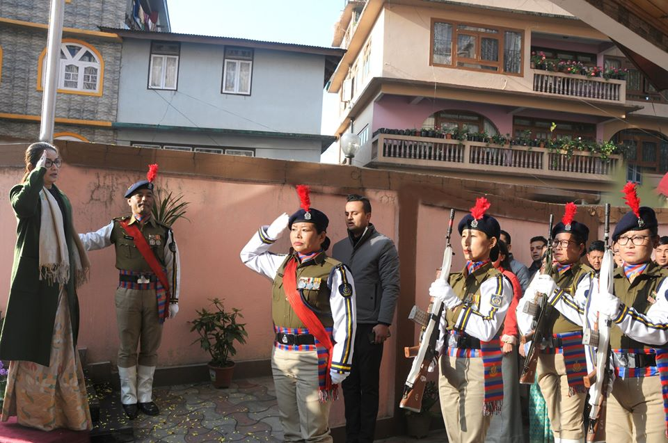 SIKKIM STATE LEGAL SERVICES AUTHORITY CELEBRATES 71ST REPUBLIC DAY