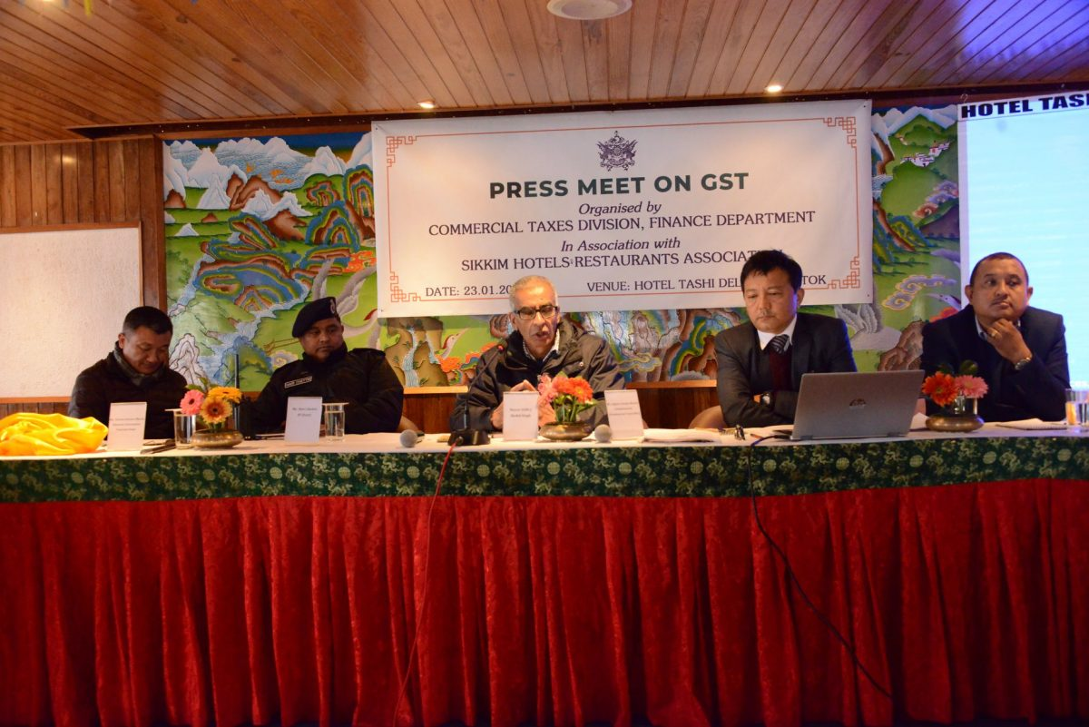 Press meet on GST