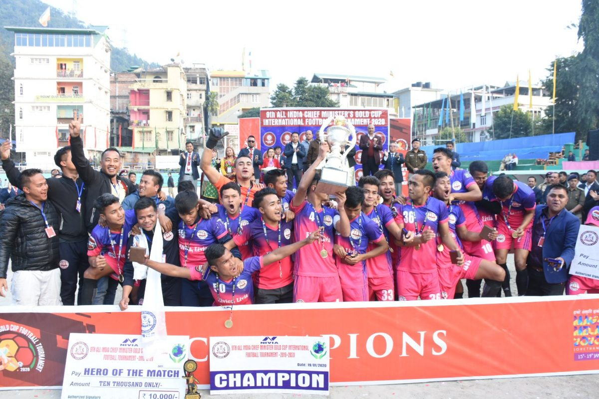 Conclusion of 9th All India Chief Ministers Gold Cup International Football and Jorethang Maghey Sankranti Mela
