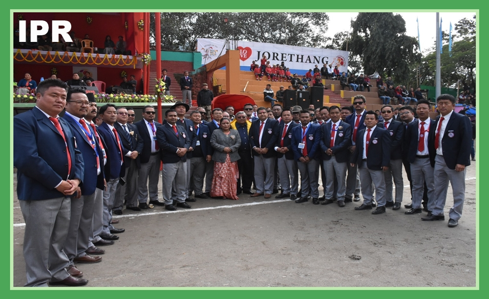 9TH ALL INDIA CHIEF MINISTER'S GOLD CUP INTERNATIONAL FOOTBALL TOURNAMENT KICKS OFF AT JORETHANG PLAYGROUND ON 05.01.2020