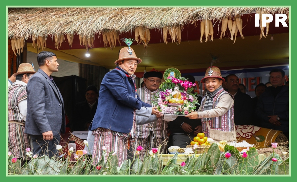 HON'BLE CHIEF MINISTER OF SIKKIM SHRI P. S. TAMANG ATTENDED THE STATE LEVEL NAMPRIKDANG NAMSOONG FESTIVAL 2019-20 ON 03.01.2020