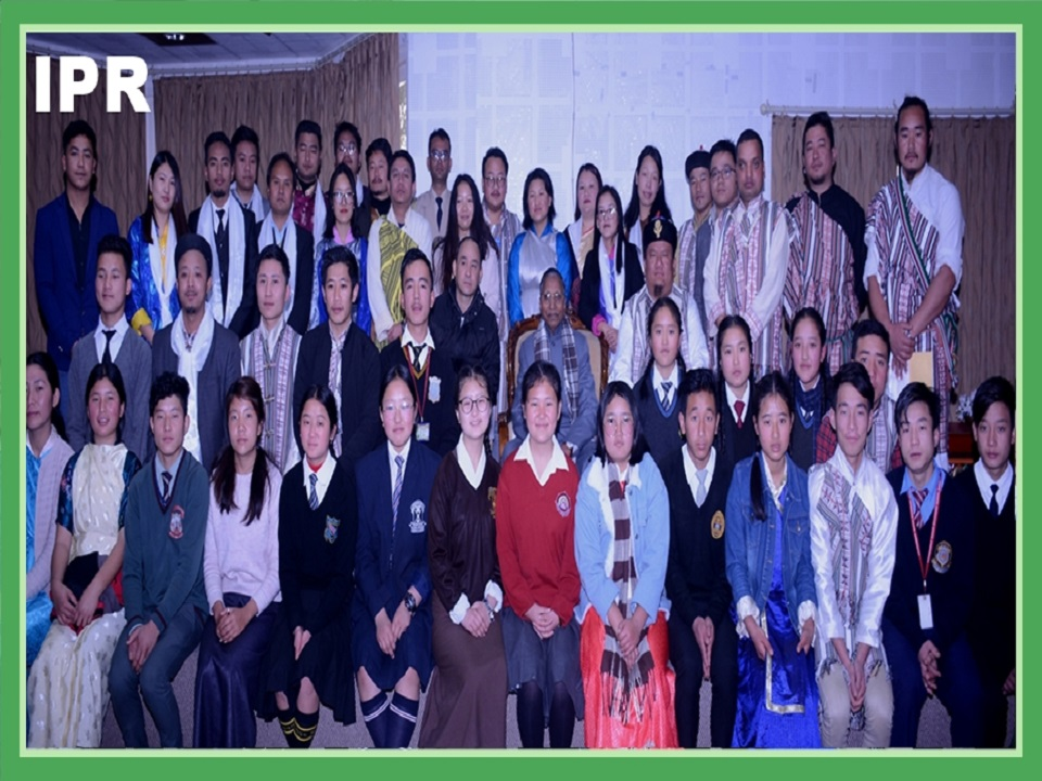 HON'BLE GOVERNOR, SHRI GANGA PRASAD GRANTED AN AUDIENCE TO REPRESENTATIVES AND STUDENTS OF SIKKIM LEPCHA YOUTH ASSOCIATION (SLYA) AT RAJ BHAVAN ON 30.01.2020
