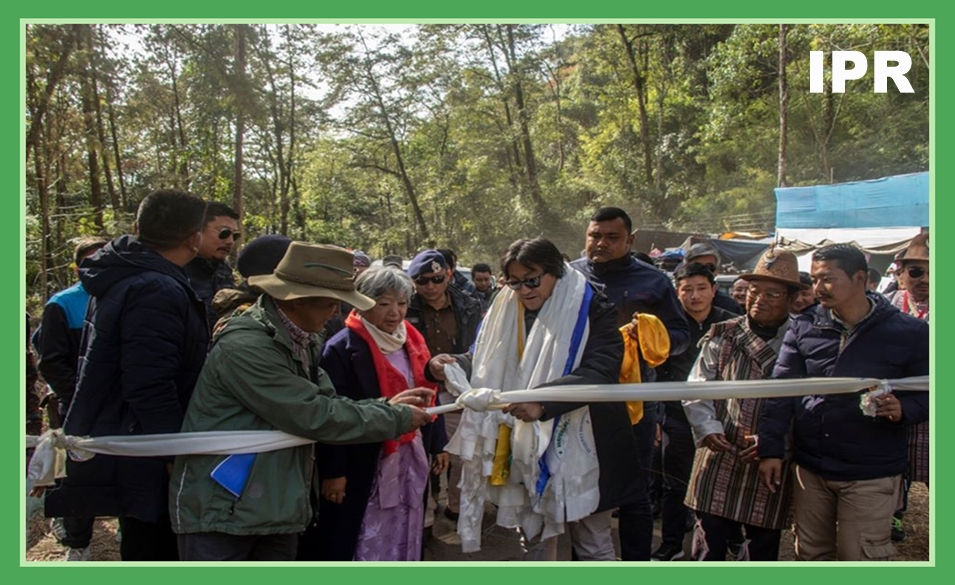 HON'BLE MINISTER SHRI KARMA LODAY BHUTIA INAUGURATED THREE DAYS LONG 'STATE LEVEL NAMPRIKDANG NAMSOONG FESTIVAL 2019-20' AT NAMPRIKDANG GROUND, UPPER DZONGU, NORTH SIKKIM ON 02.01.2020