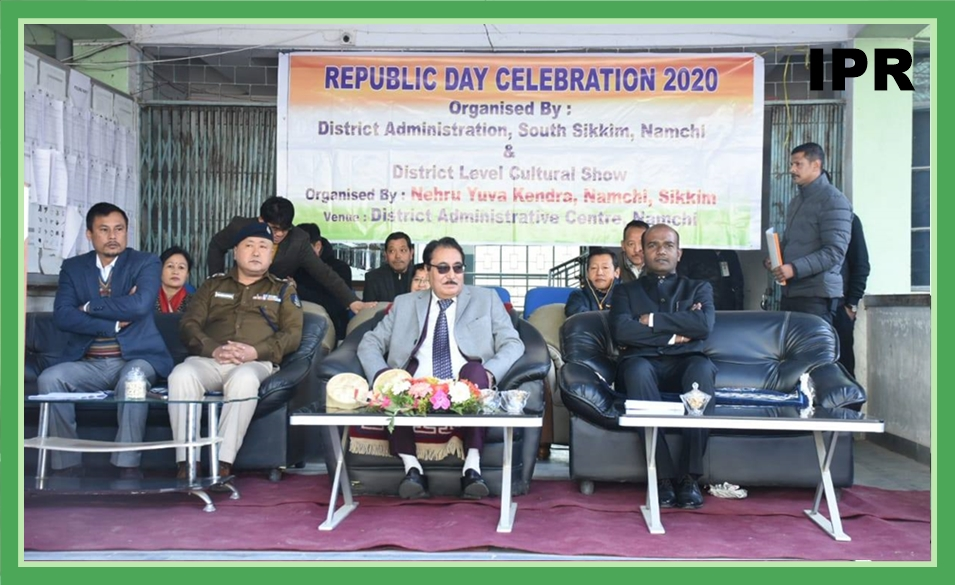 SOUTH SIKKIM CELEBRATED THE 71ST REPUBLIC DAY ON 26.01.2020
