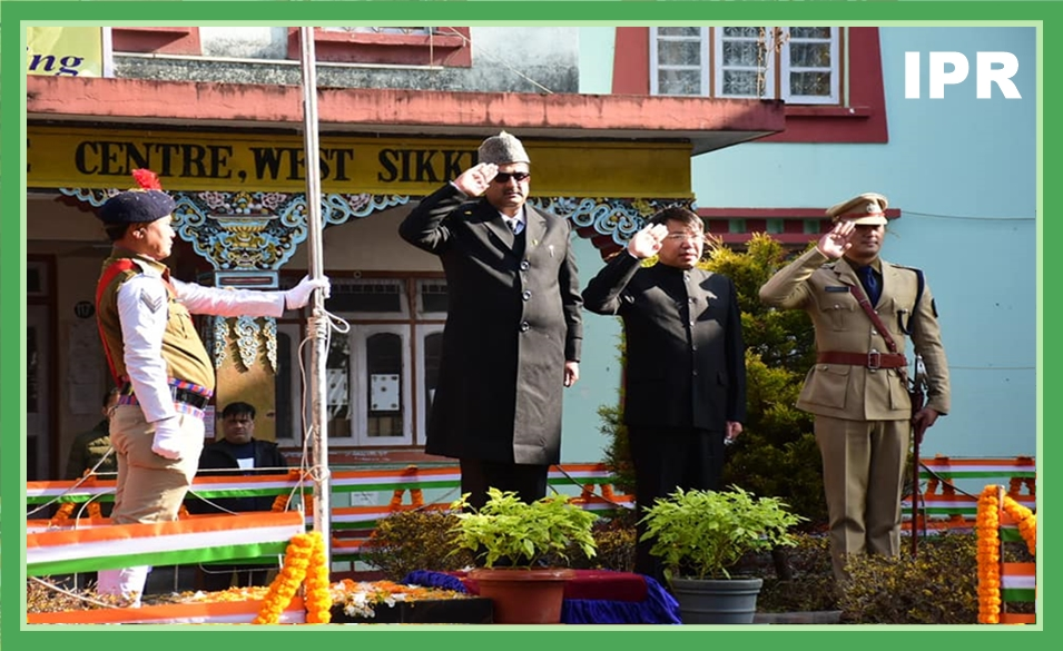WEST SIKKIM CELEBRATED THE 71ST REPUBLIC DAY ON 26.01.2020