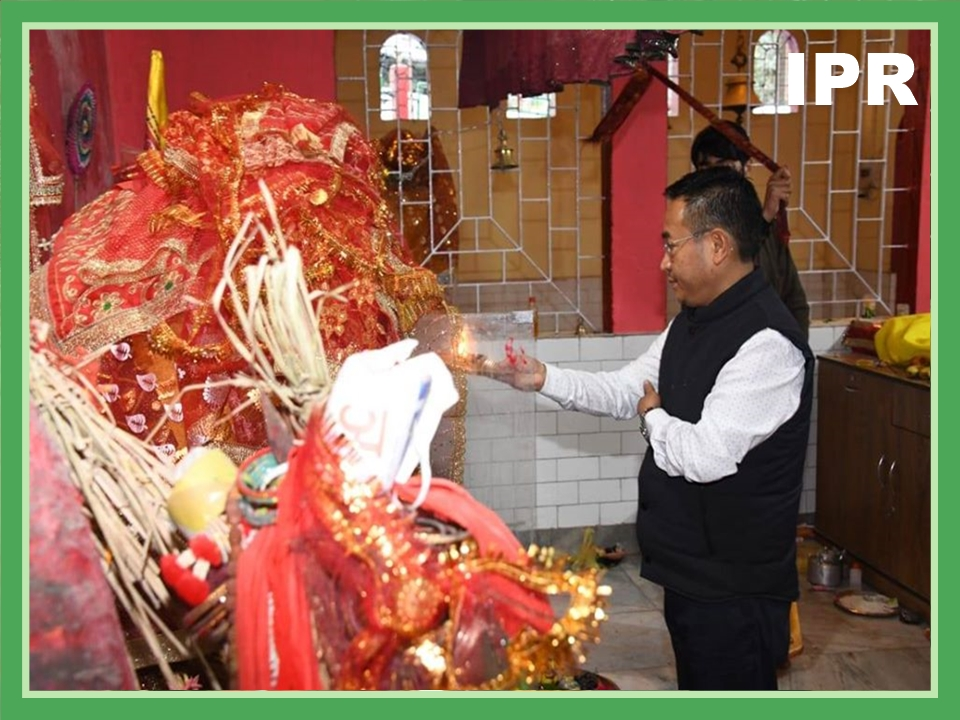 HCM VISITED ROLU MANDIR ON 23.02.2020