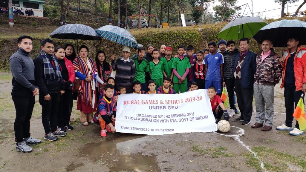 Rural Games and Sports meet
