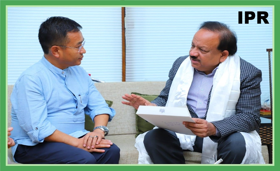 HCM MEETS THE UNION MINISTER FOR HEALTH & FAMILY WELFARE DR HARSH VARDHAN ON 16.02.2020