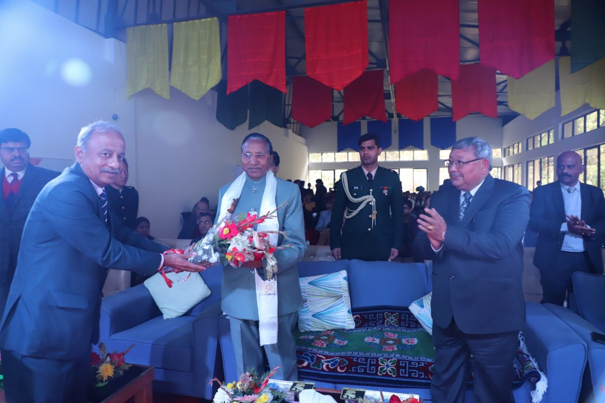 Hon'ble Governor Attends The Inaugural Ceremony Of AIC-SMUTBI
