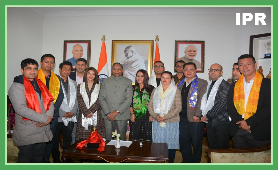 PRESS CLUB OF SIKKIM CALLED ON THE HON'BLE GOVERNOR ON 14.02.2020