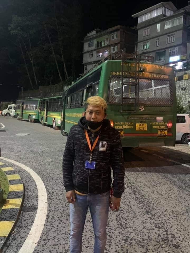 SIKKIM NATIONALIZED TRANPORT PROVIDES VITAL SERVICES DURING LOCK-DOWN