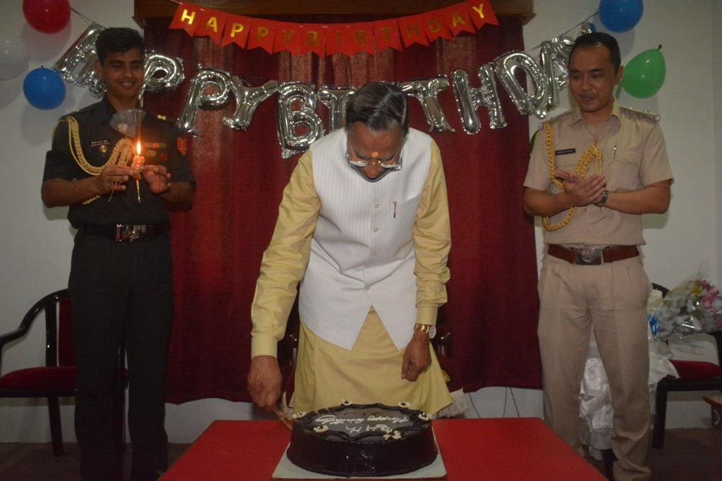 The Hon'ble Governor dedicates his birthday celebration to front line warriors