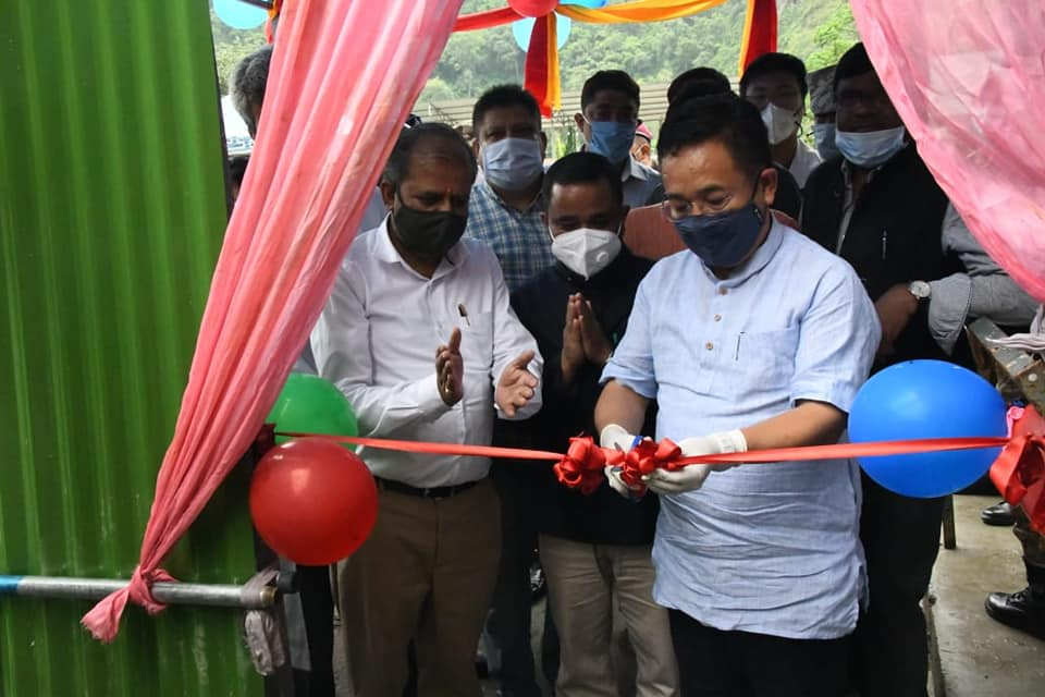 The Rapid Antigen Testing Centre for Covid-19 at Rangpo was inaugurated by HCM