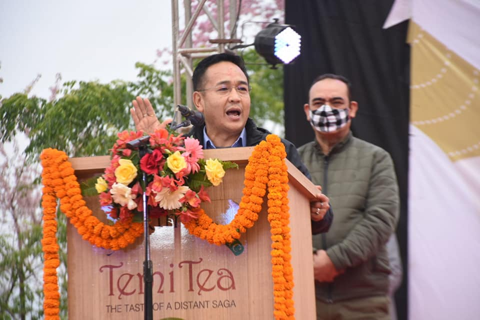 The Hon'ble Chief Minister attends Temi Autumn Festival 2020