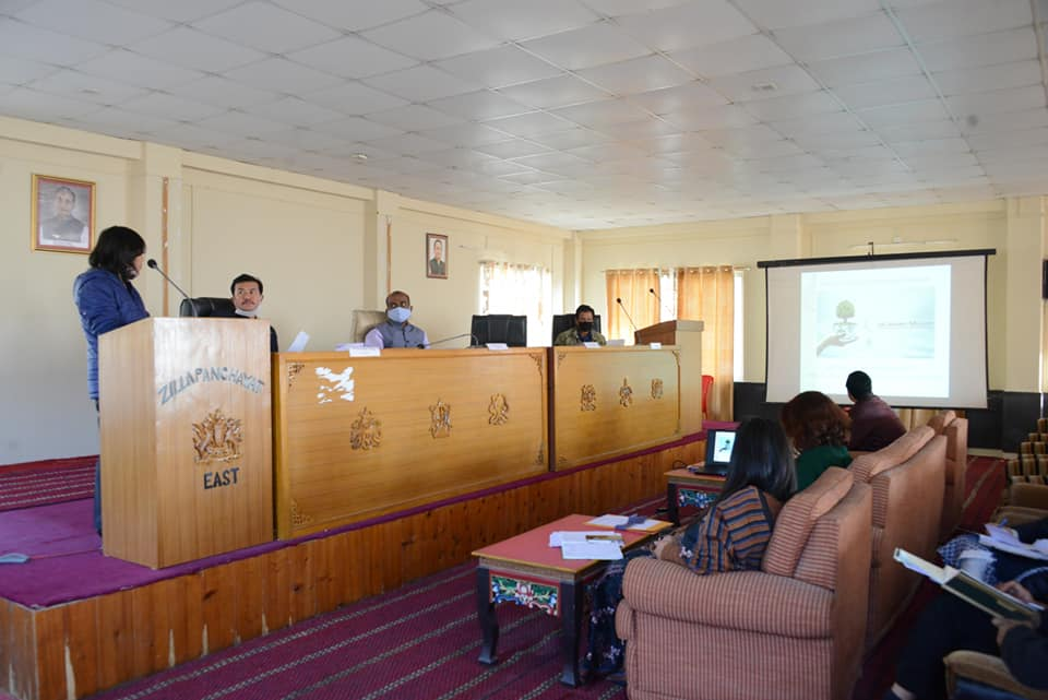 DC East chairs Jal Jeevan Mission meeting at EDZP Bhawan, Gangtok