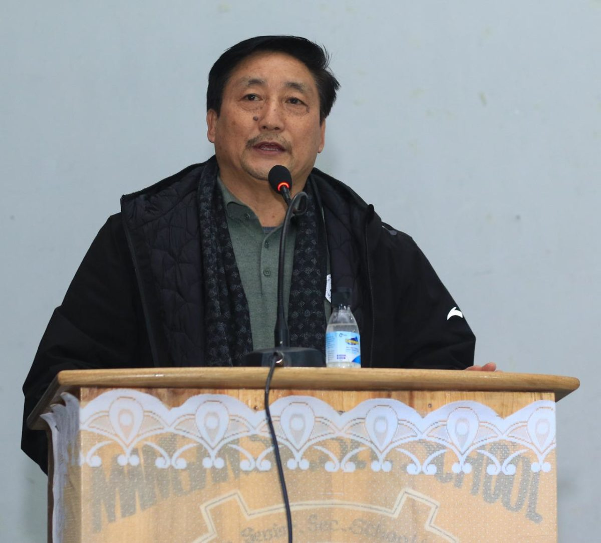Hon'ble Minister Shri Samdup Lepcha attends International Mountain Day at Mangan