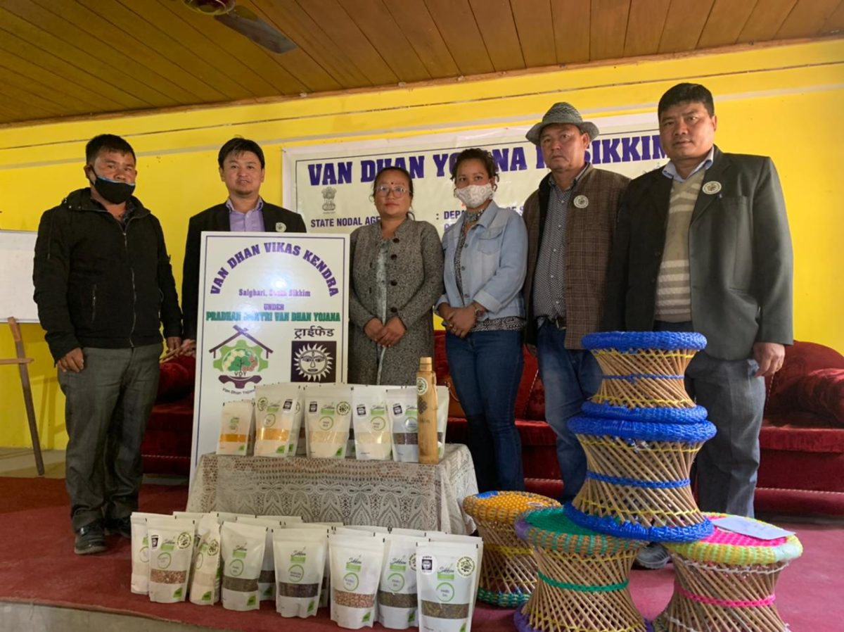 A stakeholders meeting of the Pradhan Mantri Van Dhan Yojana in Sikkim was held at South Sikkim