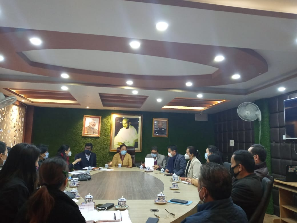 District Task Force Immunization meeting on National Immunization Day for Polio