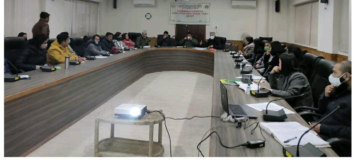 A coordination meeting of State Mission Directorate, Swachh Bharat Mission-Urban & ULBs held at Gangtok Municipal Corporation
